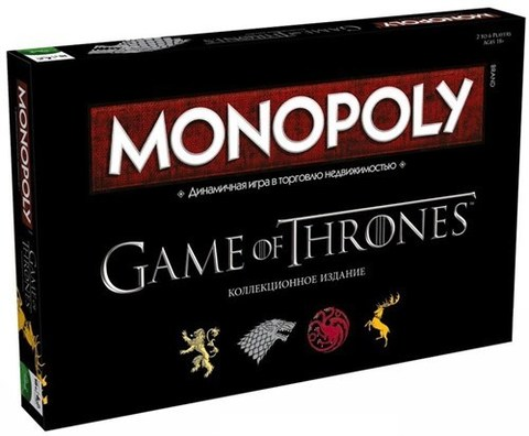Монополия Game of Thrones (на русском языке)