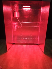 Гроубокс - стелс с LED освещением