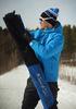 Утеплённый прогулочный лыжный костюм Nordski Motion Blue/Black