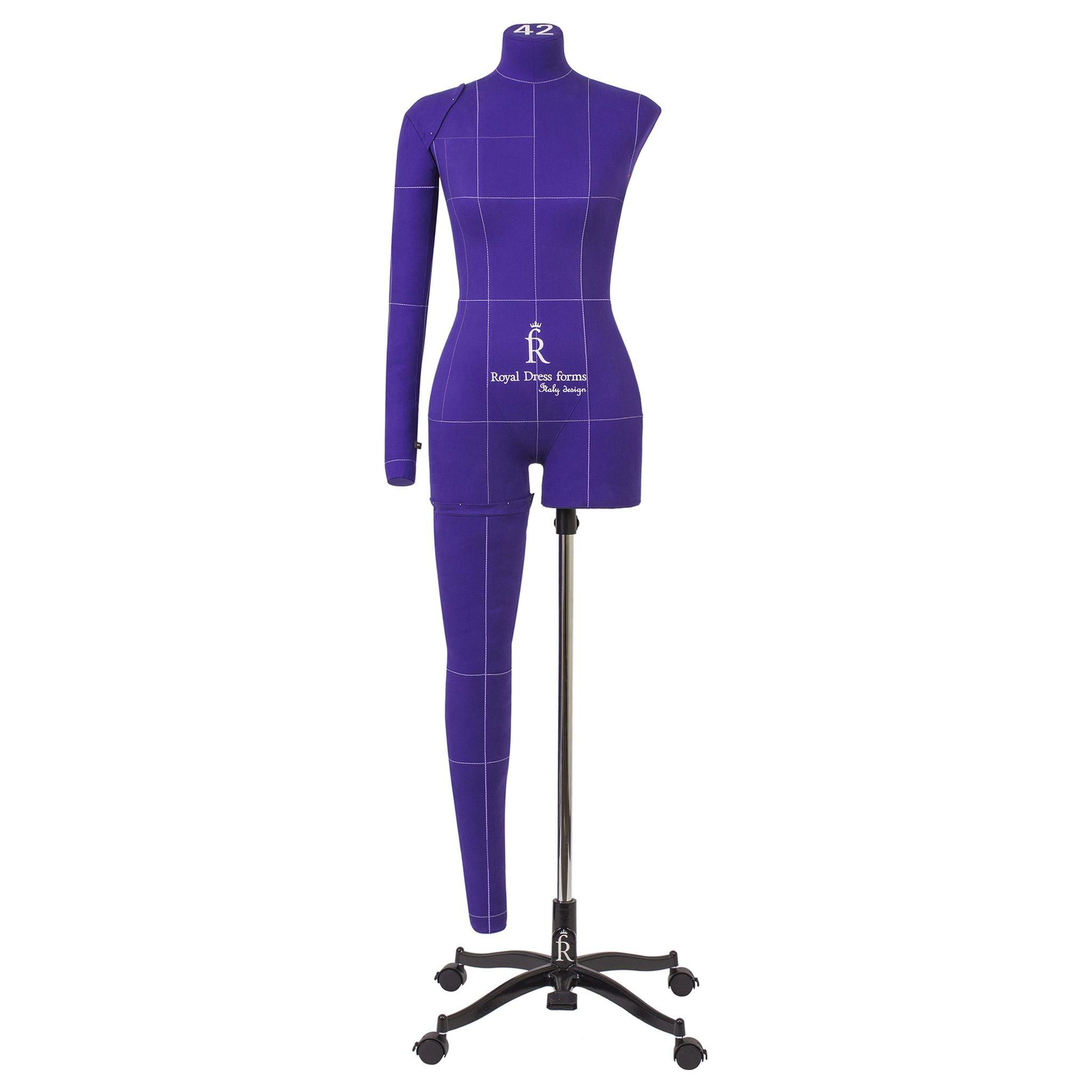 Манекен портновский Моника Арт, фиолетовый, 54 размер