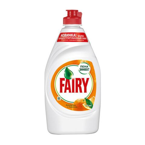 Средство для мытья посуды FAIRY Лимон/Апельсин и лимонник 450мл