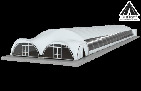 Большой шатер 1280 м2