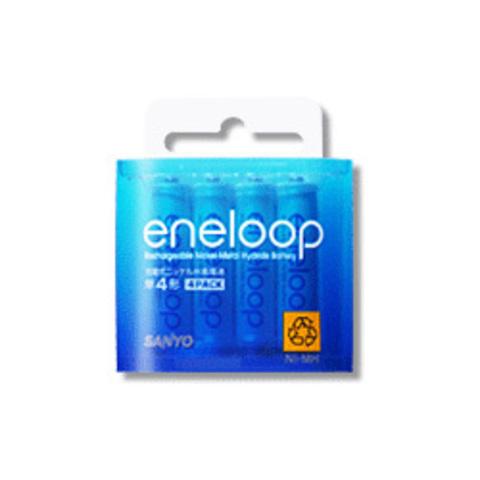 Аккумулятор Eneloop HR-4UTG-4BPAU4-4P 4AAA 750 mAh