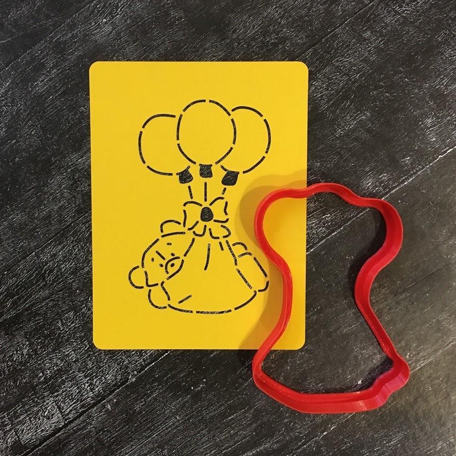 Мишка на шариках №1