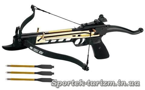 Арбалет-пистолет рекурсивный Man Kung MK-80A4AL