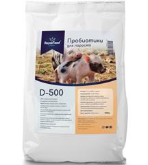 Пробиотики (кормовая добавка) для поросят Royal Feed D-500, 0,5 кг