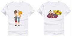 Бивис и Батхед футболка белая