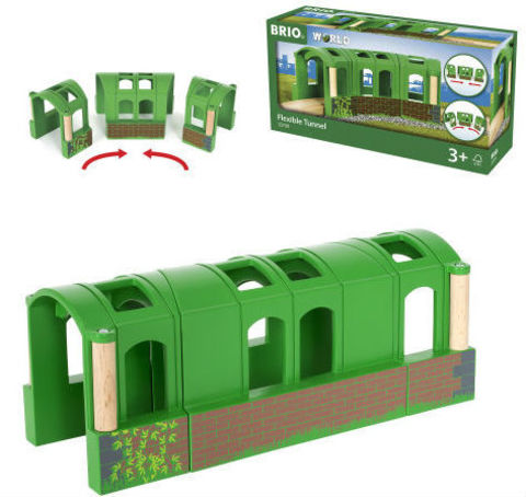 BRIO 33709 Тоннель-трансформер из 3-х секций