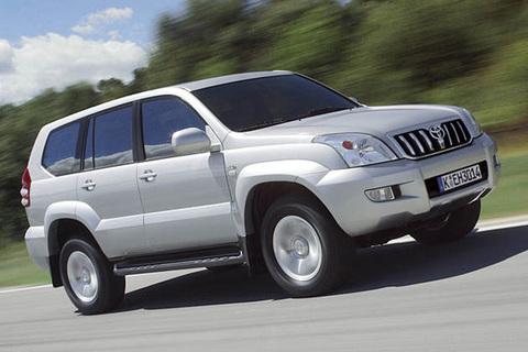Защита передних фар для Toyota Prado 120 03- (239180DS)