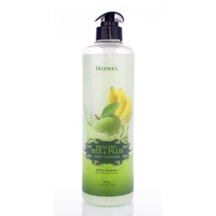 Deoproce Healing Mix & Plus Body Cleanser Apple Banana - Гель для душа яблочно-банановый