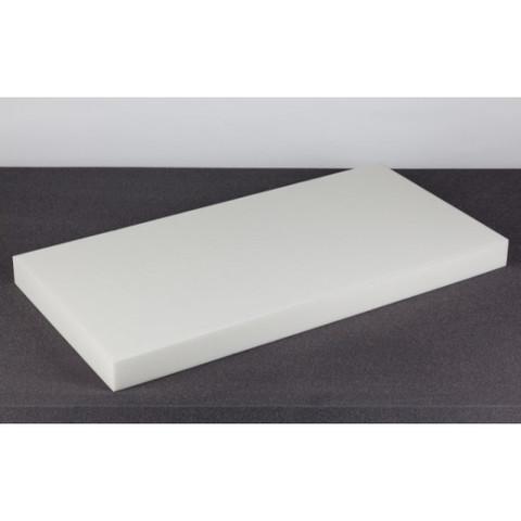 негорючая  акустическая панель ECHOTON FIREPROOF 100x50x7cm  из материала  BASOTECT белый