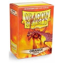 Dragon Shield - Оранжевые матовые протекторы 100 штук