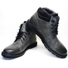 Стильные зимние ботинки мужские Ikoc 3620-3 S