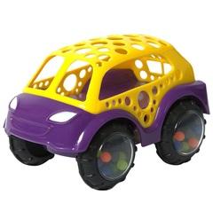 ЯиГрушка Машинка-неразбивайка желто-фиолетовая (12020ЯиГ)