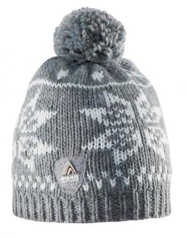 Горнолыжная шапка 8848 Altitude Snowflake (grey)