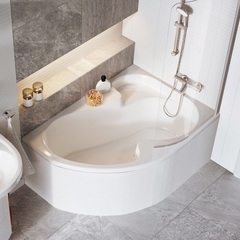 Ванна асимметричная 140х105 см правая Ravak Rosa I R CV01000000 фото