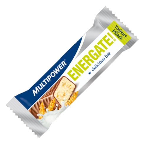Энергетический батончик Multipower Energate Bar йогурт и мюсли