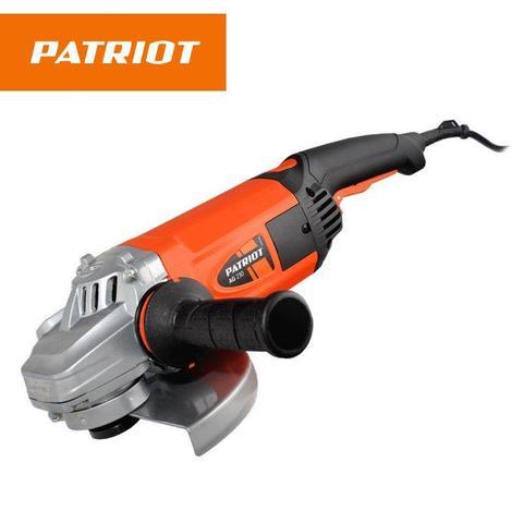 Угловая шлифмашина PATRIOT AG230