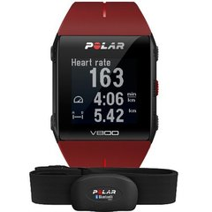 Пульсометр для фитнеса Polar V800 HR Red