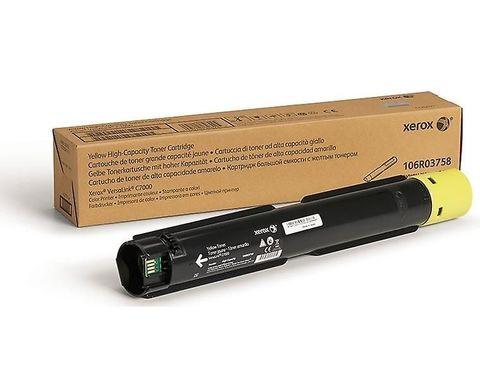 Тонер-картридж повышенной емкости Xerox для VersaLink C7000, желтый. Ресурс 10100 стр (106R03766)