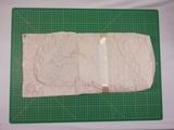 Нарядный конверт ДИСКОНТ дефект кроя - Кремовый. Одежда для кукол, пупсов и мягких игрушек.
