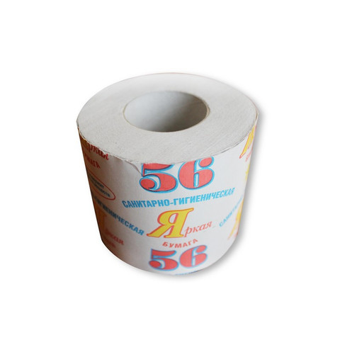 Бумага туалетная №56 1сл сер вторич 120G1 40 рул./уп