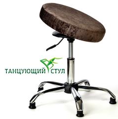 производство стульев Танцующий офисный стул без спинки хром ортопедический стул руководителя для офиса