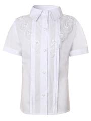 0336 блузка детская, белая