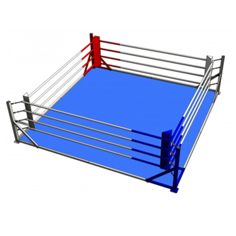 Боксёрский ринг напольный на упорах 6x6 TOTALBOX Р 78-6