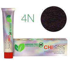 CHI Ionic 4N (Средне-коричневый) - Cтойкая краска для волос