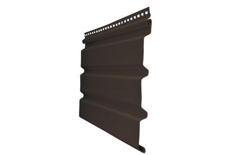 Софит Premium Гранд Лайн Estetic коричневый со скрытой перфорацией 3х0,246 м