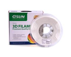 PLA+ пластик ESUN 1,75мм 1кг, Белый для 3D принтера