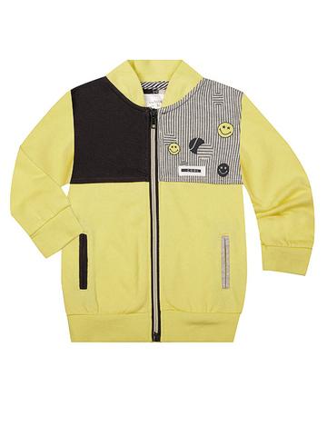 BAC003572 джемпер детский, разноцветный/желтый