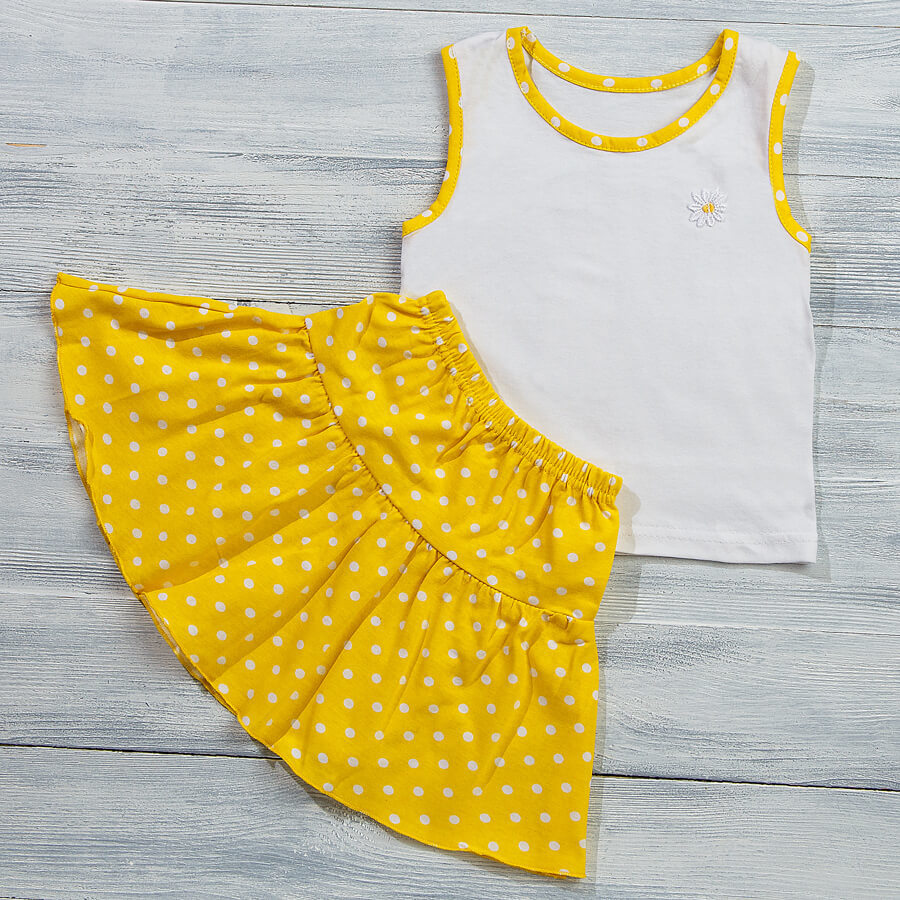 Майка и юбка для детей