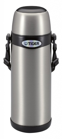 Термос классический Tiger MBI-A080 Clear Stainless, 0.8 л