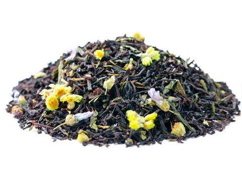 Чай зеленый с черным