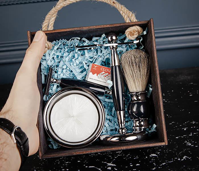 RAZ485 Большой набор для бритья в подарочной коробке фото 13