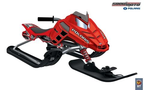Снегокат Snow Moto Polaris Rush (красный)
