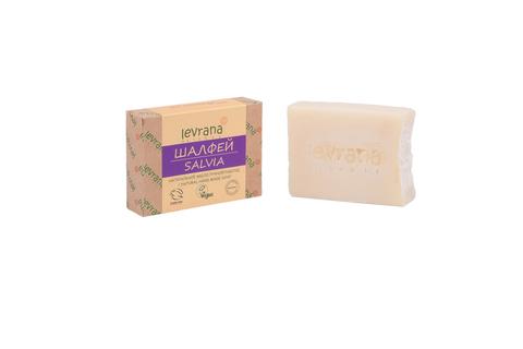 Levrana, Шалфей, натуральное мыло, 100 г