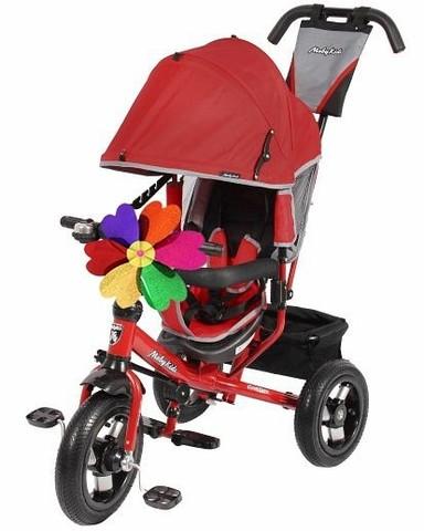 Велосипед Moby Kids Comfort 12x10 AIR Красный