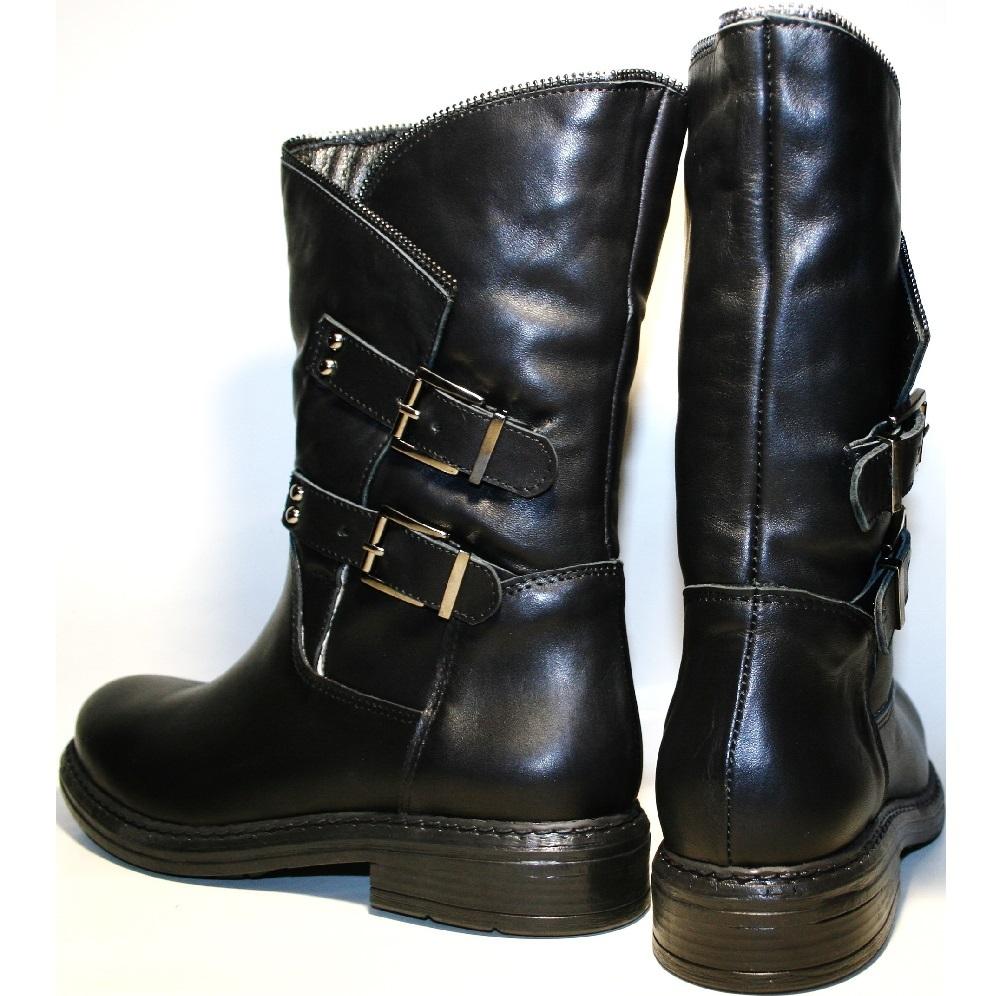 58f6ffd83d0e Купить полусапожки женские кожаные с мехом Tucino на 2tufli.com.ua