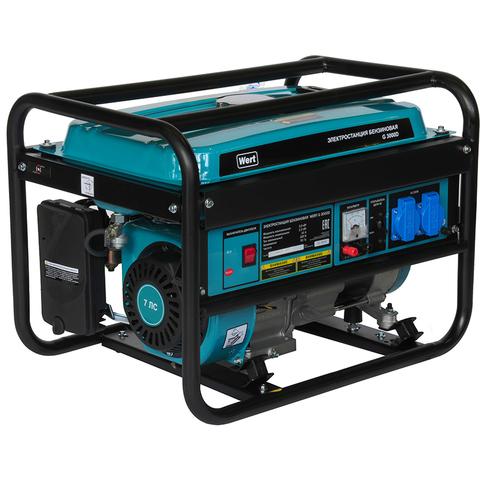 Бензиновая электростанция WERT G 3000D