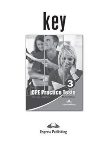 Practice Tests for CPE 3 (Cambridge English: Proficiency) Answer Key - ответы к пособию