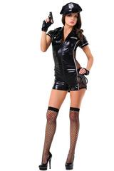 Костюм-комбинезон полицейского для взрослых сексуальных игр