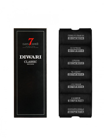 Мужские носки Classic 5С-08СП (7 дней) рис. 100 DiWaRi