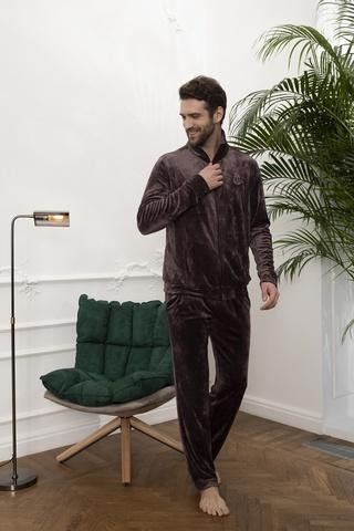 Мужской велюровый костюм 20321 Laete Турция