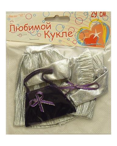 Костюм с жакетом - Сиреневый. Одежда для кукол, пупсов и мягких игрушек.