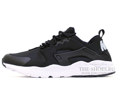 Кроссовки Мужские Nike Air Huarache Run Ultra Black White