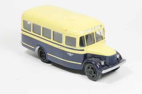 GAZ-51 GZA-651 bus 1949 Vector-models 1:43