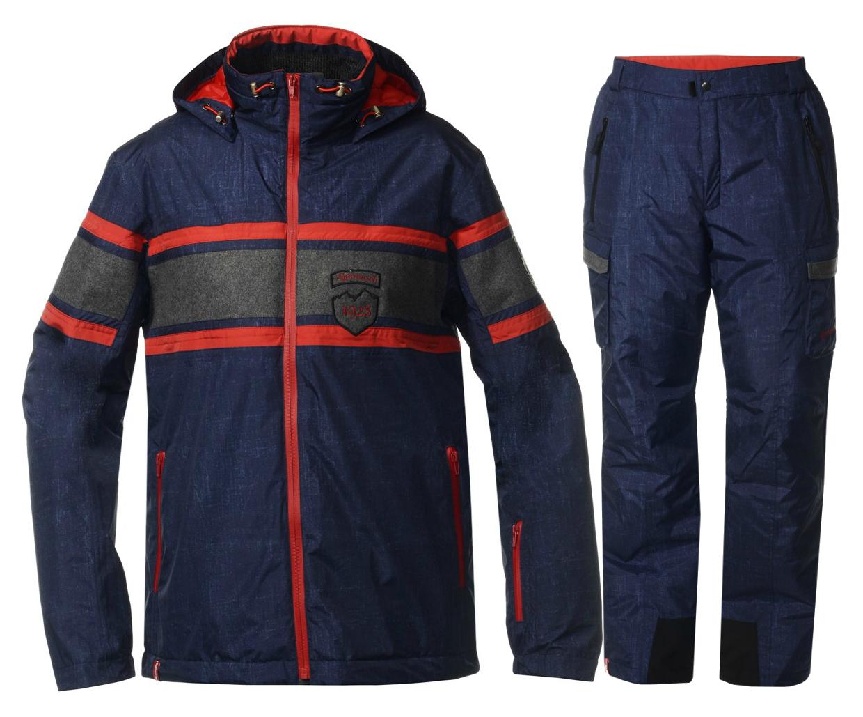 Мужской горнолыжный костюм Almrausch Staad-Hochbruck 320103-321300 джинс